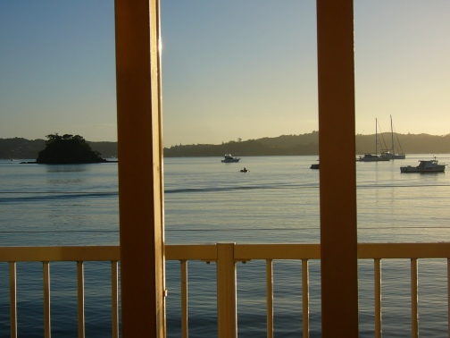 breakfast in Paihia