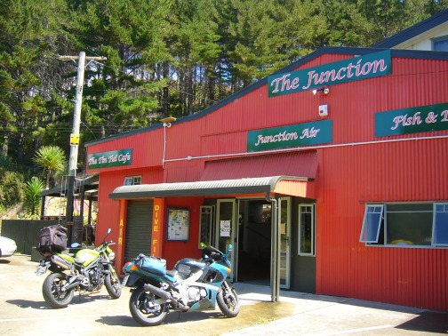 The Junction cafe old russell rd