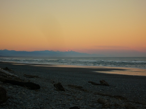 Greymouth sunrise