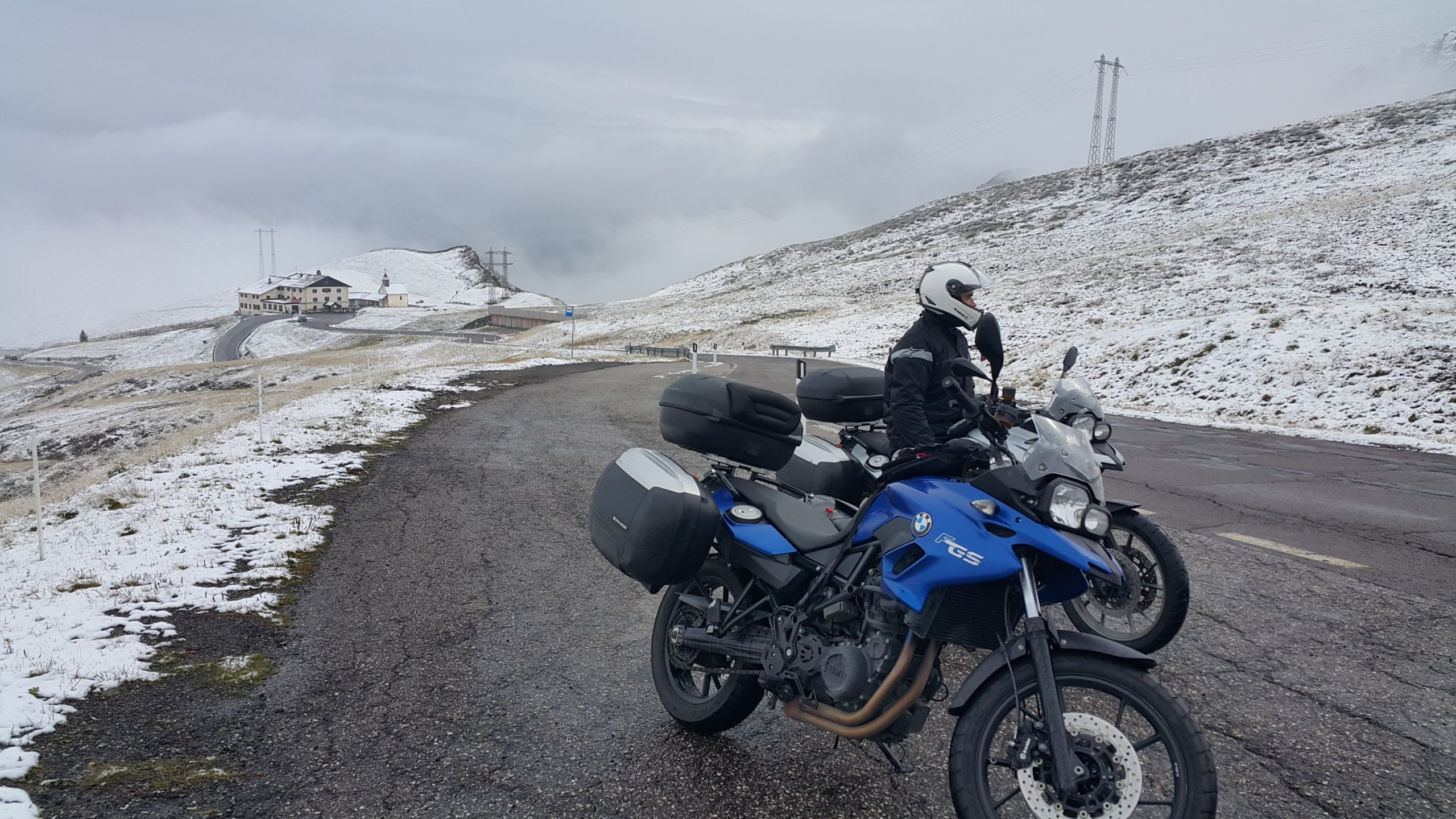 Motorbikescape goes to the Alps