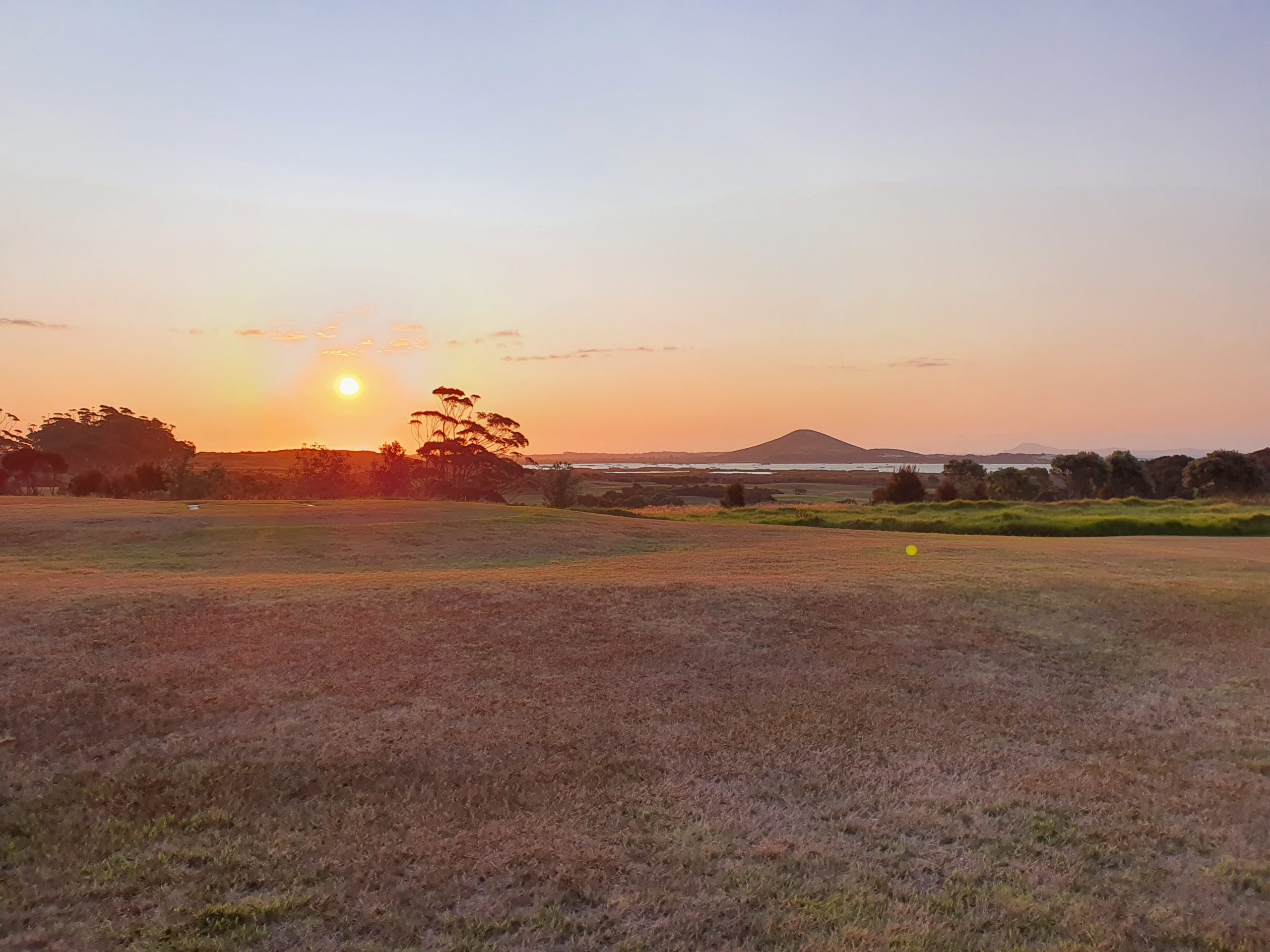 Sunset over Northland