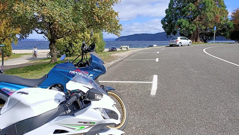 April – Café run to Kinloch, Lake Taupo